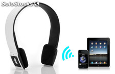 Bluetooth Wireless Headset 3.0 Audio - Sonido estéreo, controles y micrófono