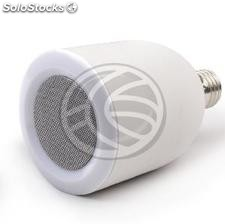 Bluetooth wireless speaker with LED light and E27 (AL81)