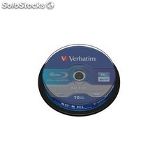 Bluray bd-r dl 50gb 6x 10 pack spindle