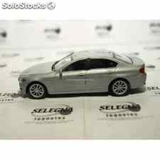 Bmw 535i gris escala 1/43 welly coche metal miniatura