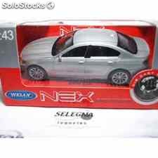 Bmw x6 gris escala 1/43 welly coche metal miniatura