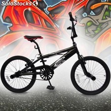 "Bmx bicicleta de 20 pulgadas ""rueda Freestyle Dirt Bike negro phantom"