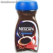 Bocal 200G selection rouge decafeine nescafe
