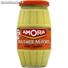 Bocal 415G moutarde mi forte amora