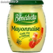 Bocal 470G mayonnaise nature benedicta