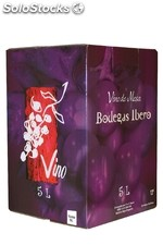 Bodegas Ibero Bag in Box Rouge 5L.