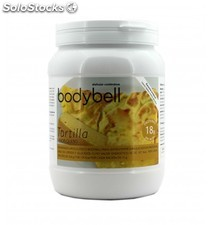 Bodybell bote tortilla queso 450 grs.