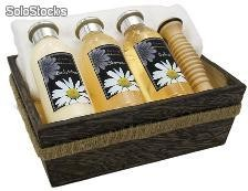 Bodylotion, Badeöl und Shampoo - Essence of Camomile