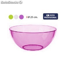 Bol 25CM clear privilege - 3 colores surtidos PGT01-43539