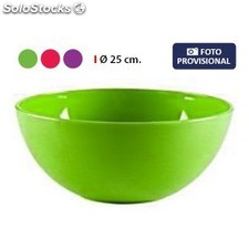 Bol 25CM solid privilege - 3 colores surtidos PGT01-42599