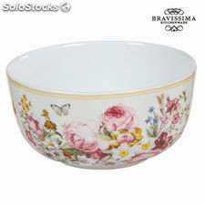 Bol porcelana bloom white - colección kitchens deco by bravissima kitchen