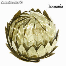 Bola de metal champagne - Colección New York by Homania
