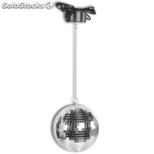 Bola discoteca giratoria con luces LED, marca Party Fun Lights