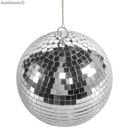 Bola discoteca giratoria con luces led marca party fun lights - Bola de espejos discoteca ...