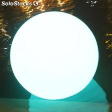 Bola led, esfera, luminosa, 30cm, RGB, recargable, flotante