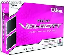 Bolas De Golf Wilson Tour Velocity Women