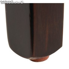 Bolero Faux Leather Dining Chair Red (Box 2)