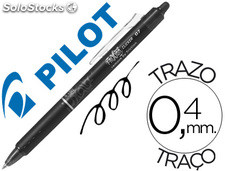 Boligrafo pilot frixion clicker borrable 0,7 mm color negro