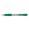 Boligrafo retractil pilot punta 1mm super grip verde - Foto 2