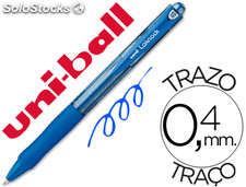 Boligrafo uni-ball laknock sn-100 retractil color azul
