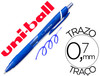 Boligrafo uni-ball roller jetstream SXN157C retractil 0,7 mm color azul