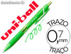 Boligrafo uni-ball roller jetstream sxn157c retractil 0,7 mm color verde claro