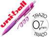 Boligrafo uni-ball roller jetstream SXN157C retractil 0,7 mm color violeta