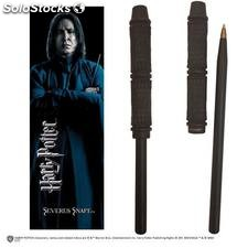 Boligrafo y Marcapaginas Harry Potter Snape
