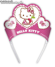 Bolsa 6 tiaras hello kitty hearts