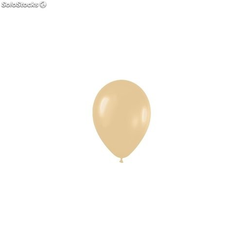 Bolsa de 50 globos sempertex r12 de 30 cm color fashion pastel moca (172)