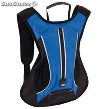 Bolsa de deporte LED RUN , azul, negro