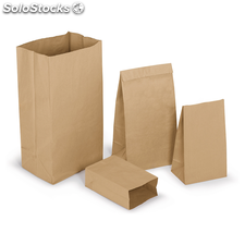 Bolsa de papel kraft natural 36x90x24cm