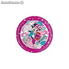 Bolsa de platos minnie mouse dots 8 uds