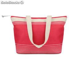 Bolsa de playa 600D/canvas MO8710-05, rojo