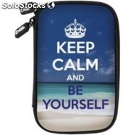 Bolsa e-vitta hdd cover keep calm 2 5
