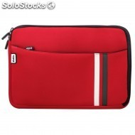 Bolsa e-vitta laptop sleeve neoprene 13 3 red