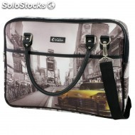 Bolsa e-vitta trendy laptop bag 16 ny taxi