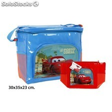 Bolsa nevera colores surtidos, disney, -cars-, 30X35X23CM.