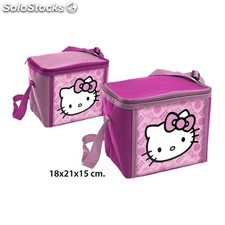 Bolsa nevera hello kitty fucsia - idealcasa kids - hello kitty -