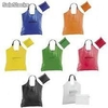 Bolsa nylon kima plegable (37x37cms) colores