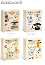 Bolsa papel post card