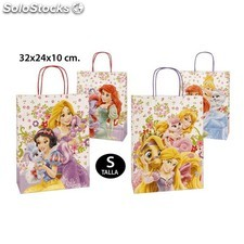 Bolsa regalo, disney, -princess-, talla s