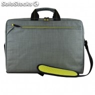 Bolsa tech evo attache 15 6 pulg gris magnetic