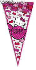 Bolsa triangular 20x. hello kitty