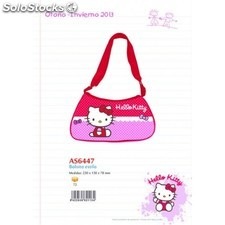 Bolsito Hello Kitty 23x13x7cm.