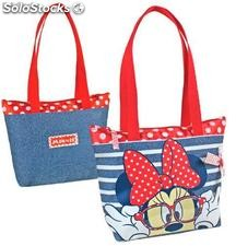Bolso Jeans Minnie Mouse