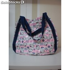 Bolso maxi rosa hello kitty