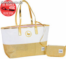 Bolso Moos Gold con Billetera