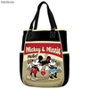 Bolso Shopping Telephone Mickey Minnie Disney