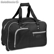 Bolso trolley negro poliéster 6 d.